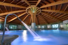vista agua pisicna termal balneario Castilla Termal Balneario de Solares