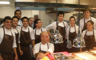 Стажировки в ресторанах-обладателях звезд Мишлен в Стране Басков
